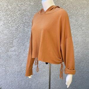Rebellious Dreamer Orange 🍊 Crop Top Sweater